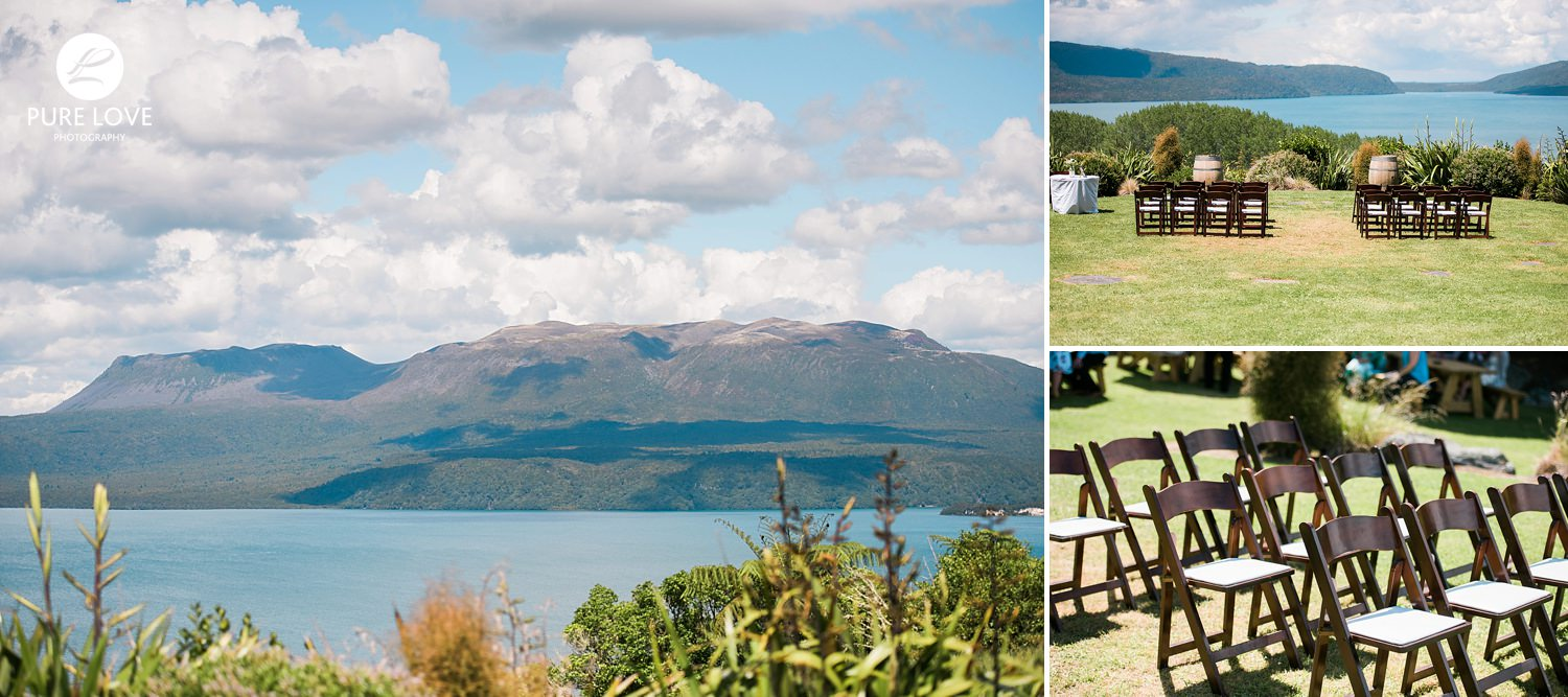 mount tarawera wedding