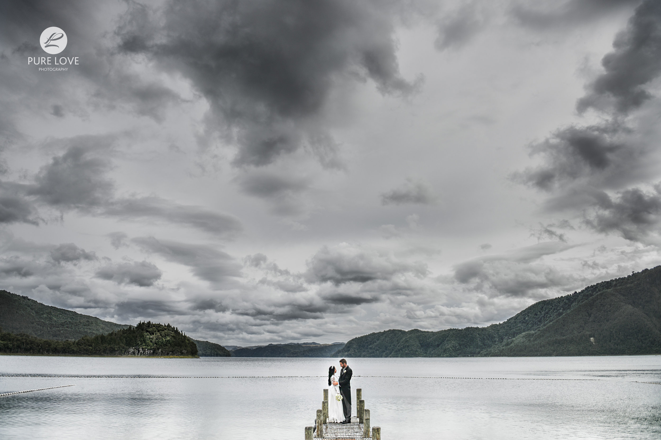 lakes lodge lake okataina wedding