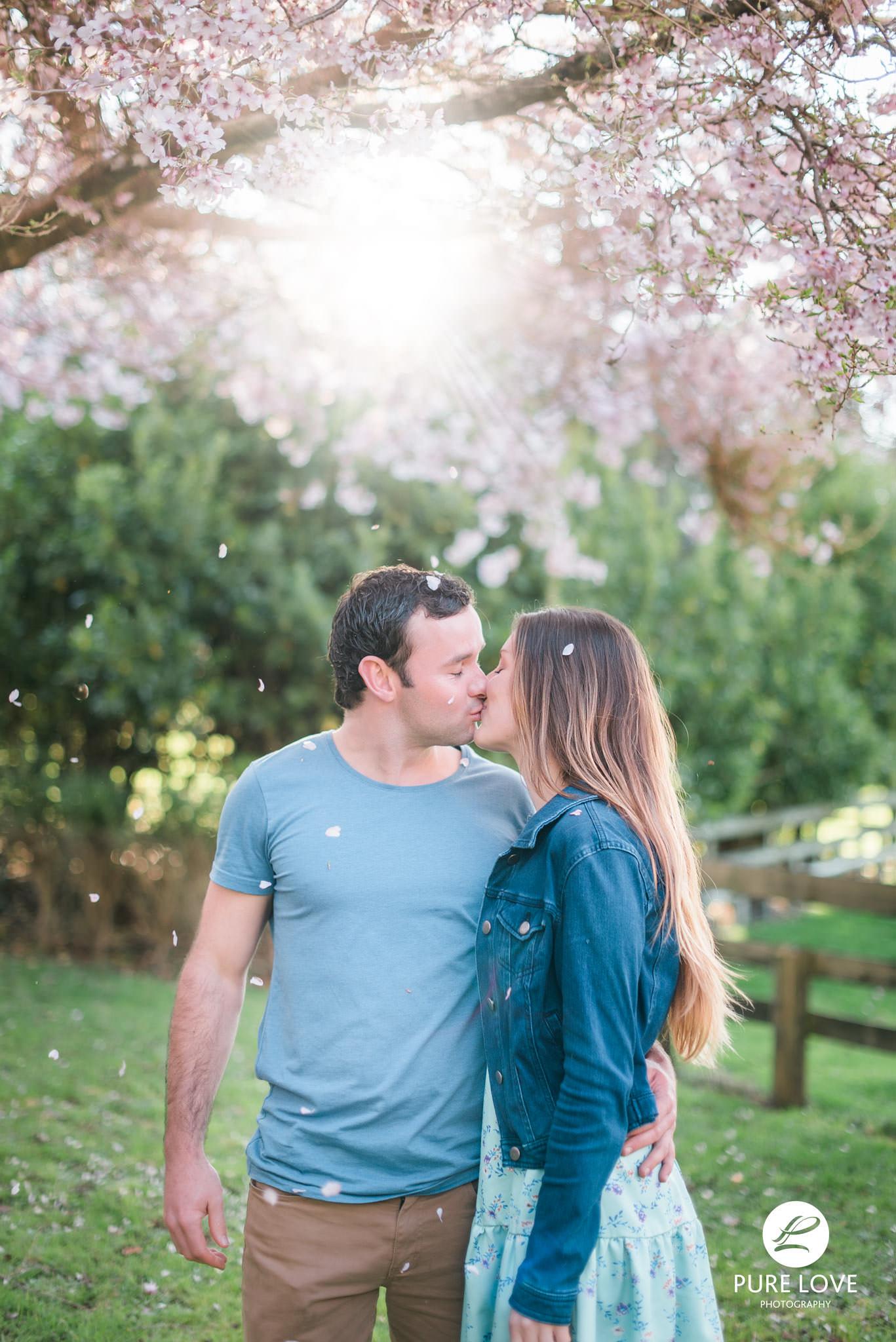 Engagement Session Cherry Blossom