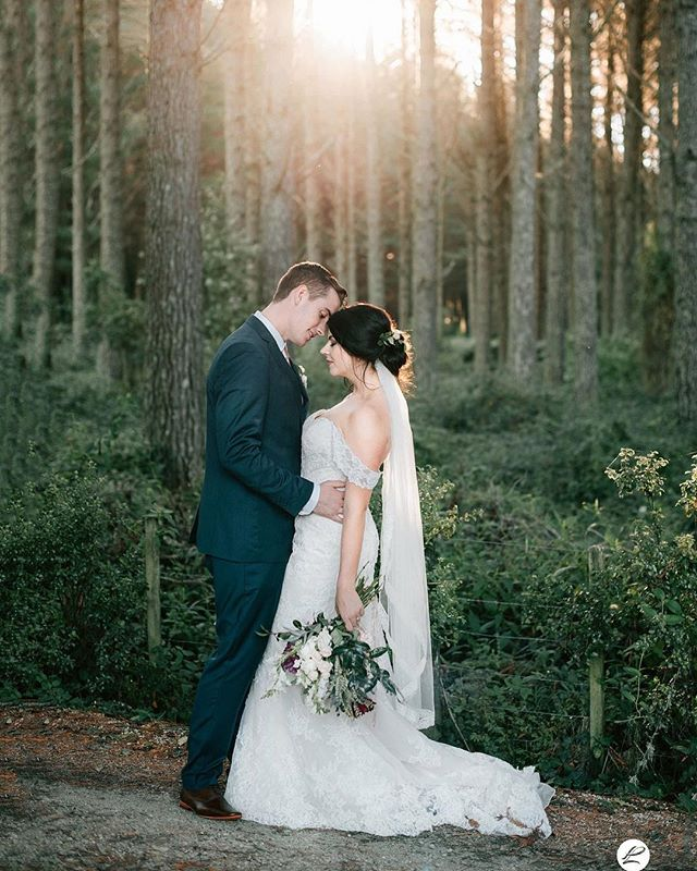Beautiful couple Rose & Jack.  Venue: @oldforestschool  Flowers: @honeysuckle_rose_flowers  Make Up & Hair: @lipstick_and_co_team  #oldforestschoolwedding #oldforestschool #vintageweddingvenue #love #rotoruaweddingphotographer #taurangaweddingphotographer #sunsetweddingphoto #purelovephotography #nzphotographer #newzealand #wedding #vintagewedding #honeysucklerose #lipstickandco #vintage