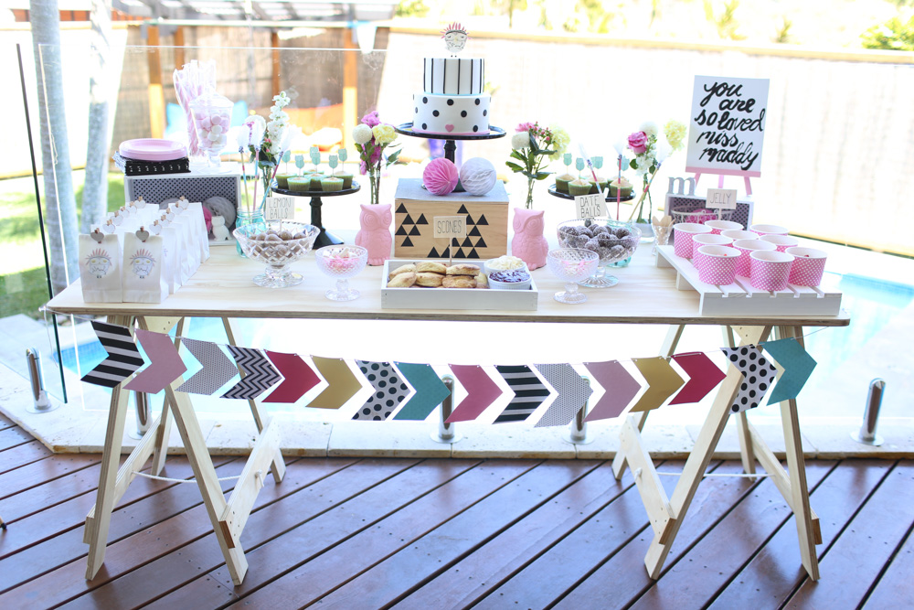 Maddy's 1st Birthday Party {Event Styling}