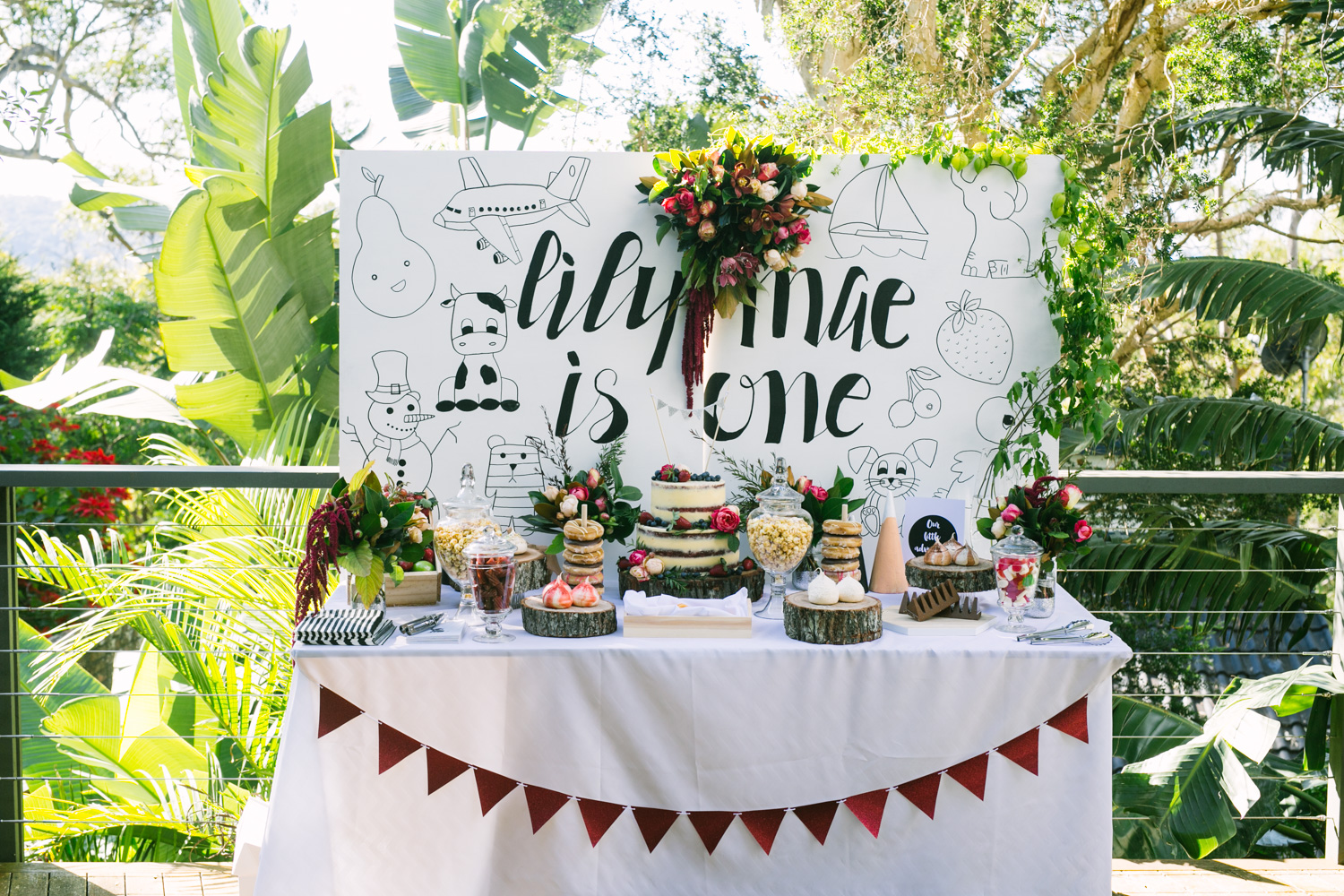 Lily Mae's 1st Birthday Party {Event Styling}