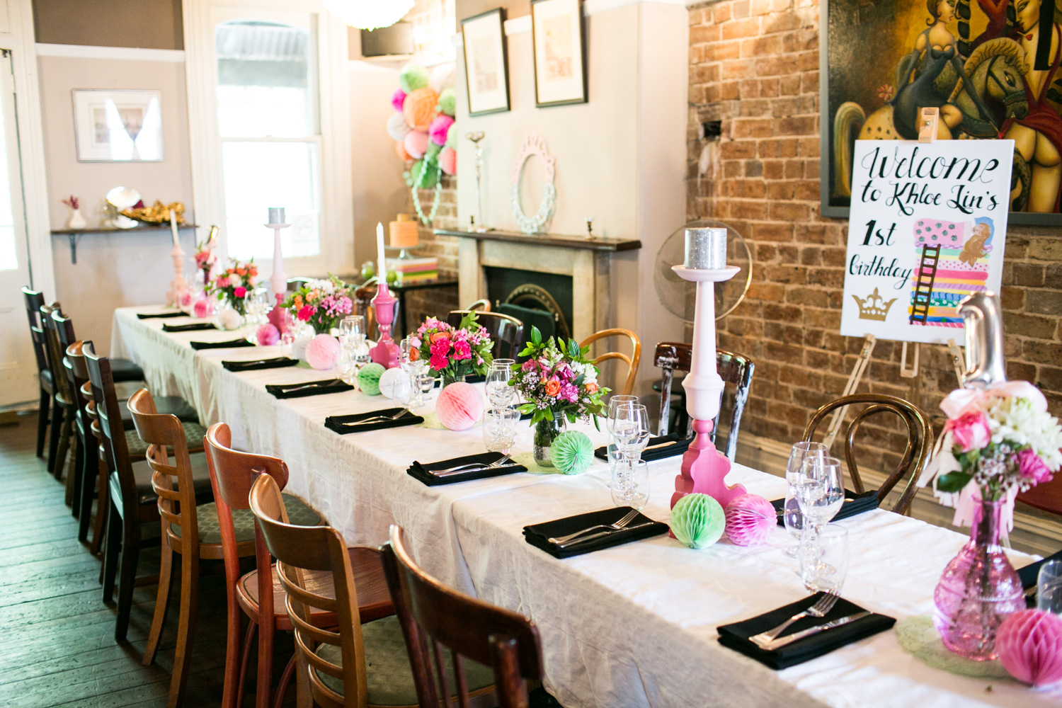 Khloe Lin's 1st Birthday Party {Event Styling}