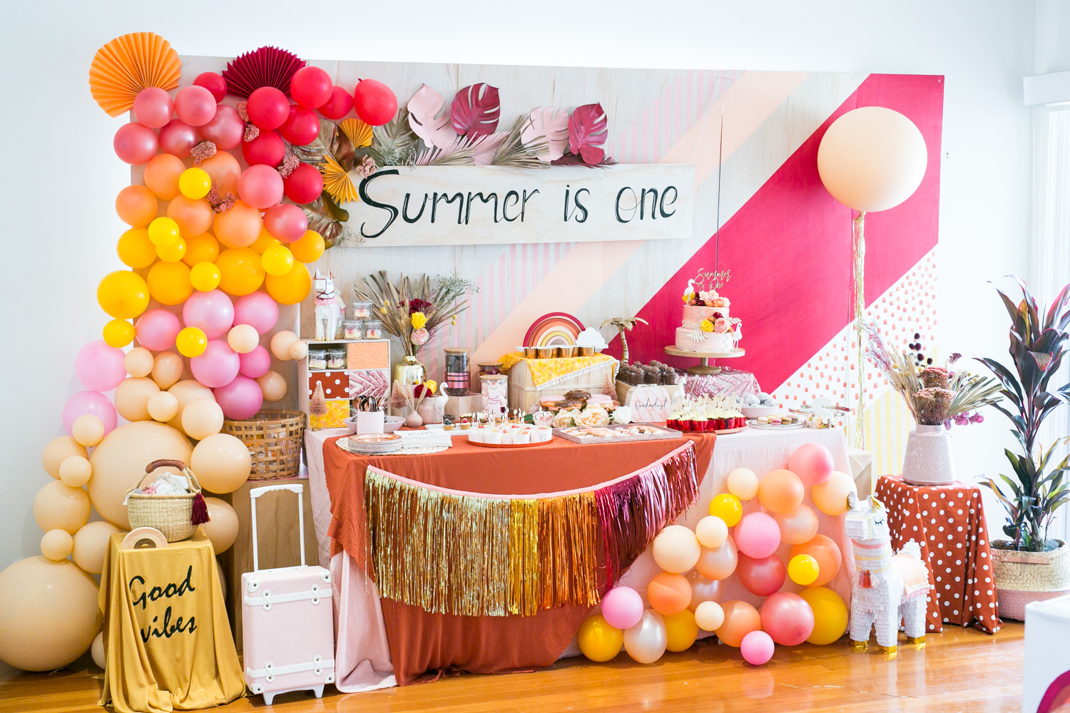 Summer's 1st birthday {party styling}