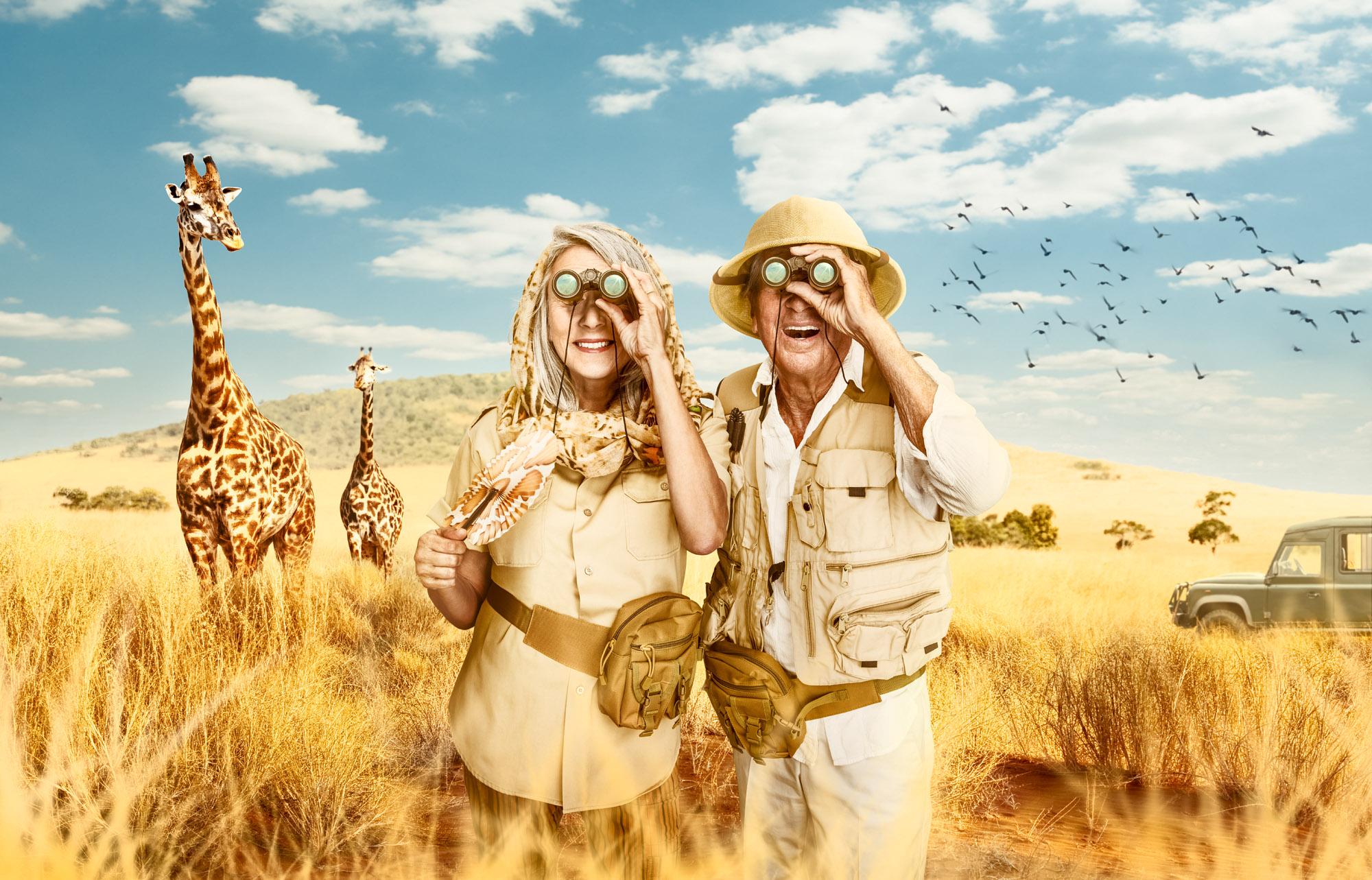 Snowbirds - Safari