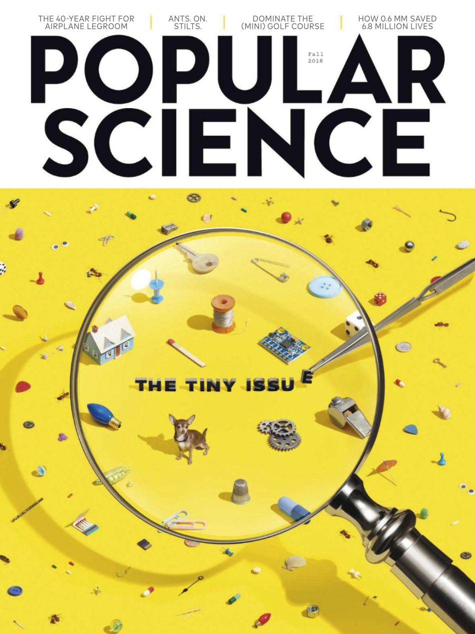 Popular Science - The Tiny Issue