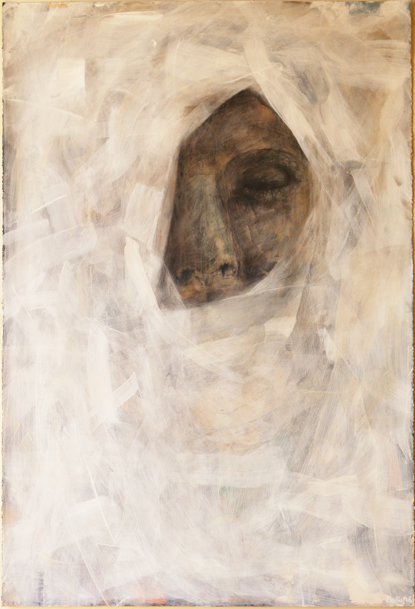 Veiled Figure, 2016