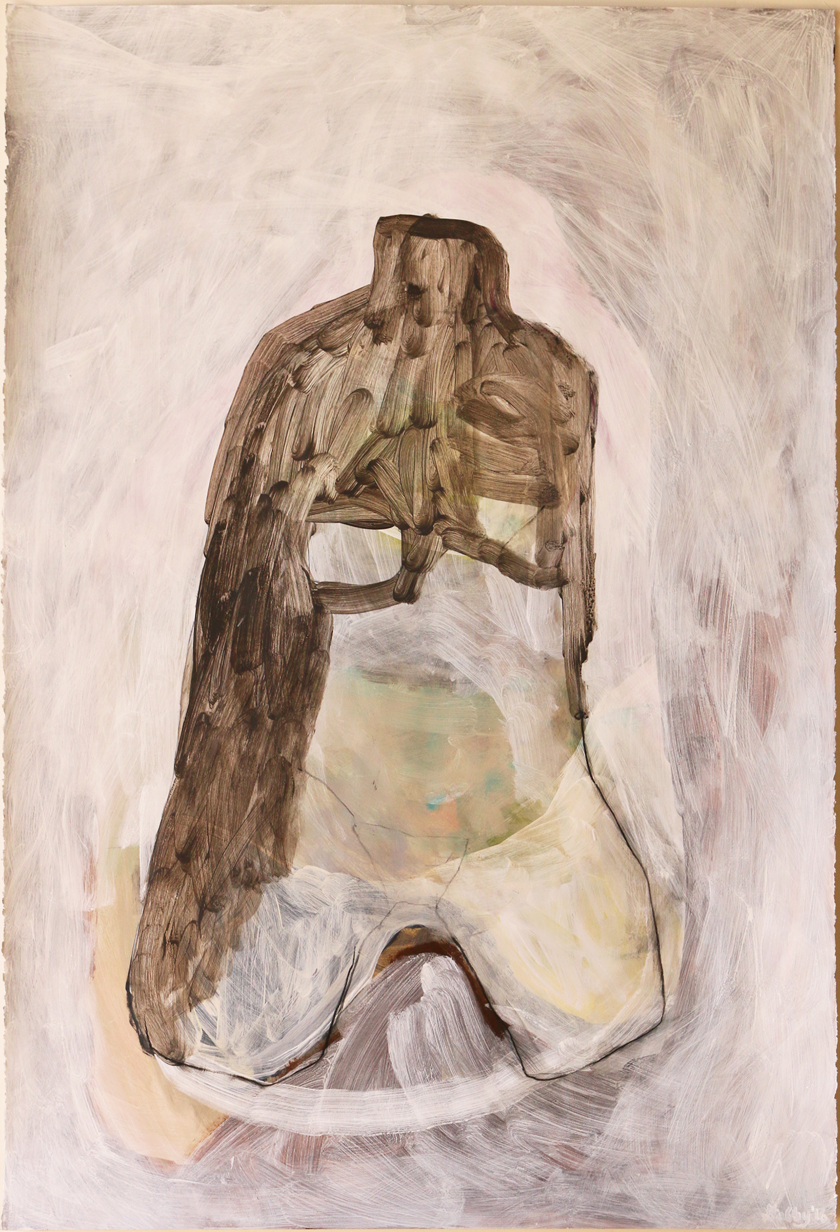 Torso with Cloak, 2016