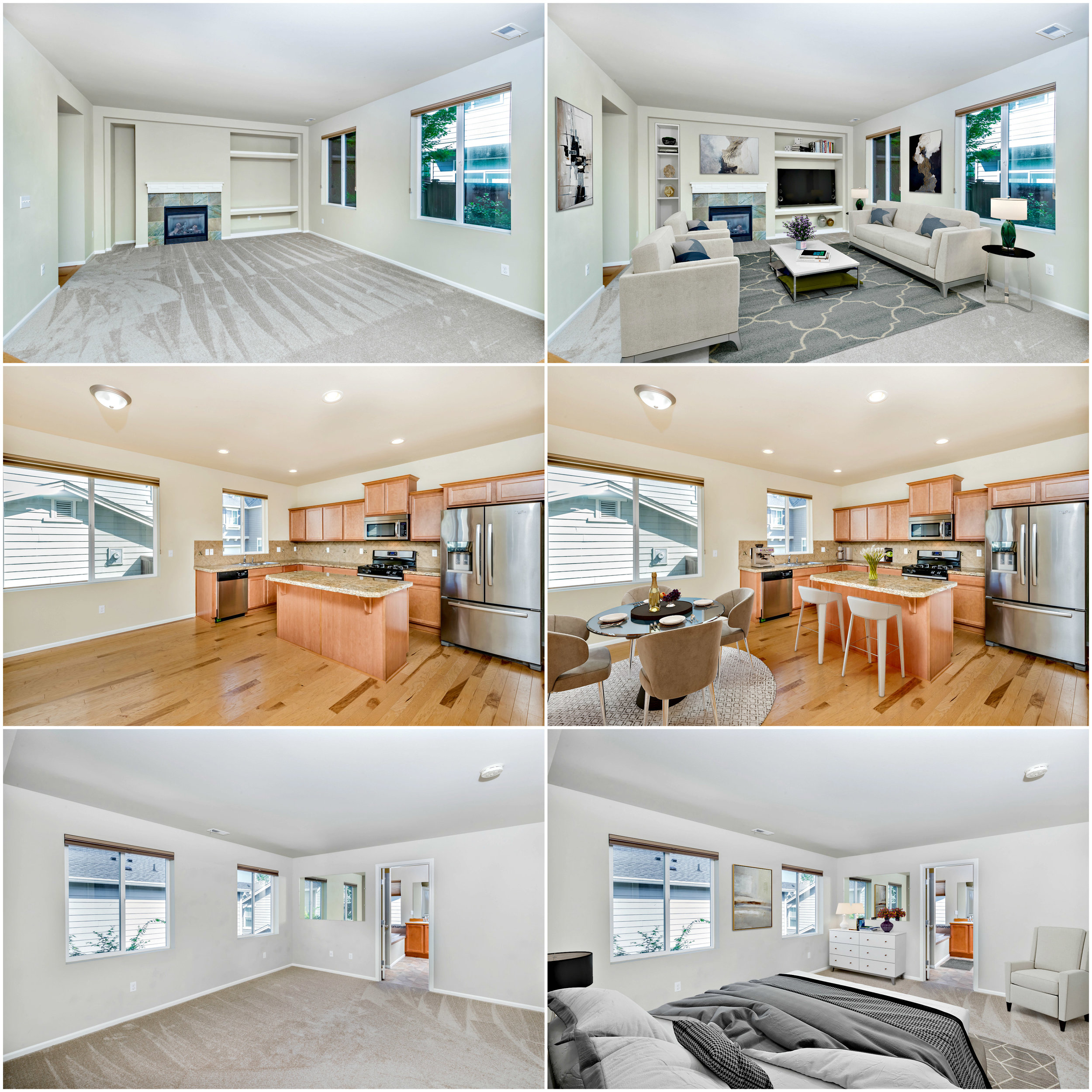 Real Estate listing photos we shot and virtually staged for  Mark Mizuno  in Bothell, WA. Shot by Shadi.