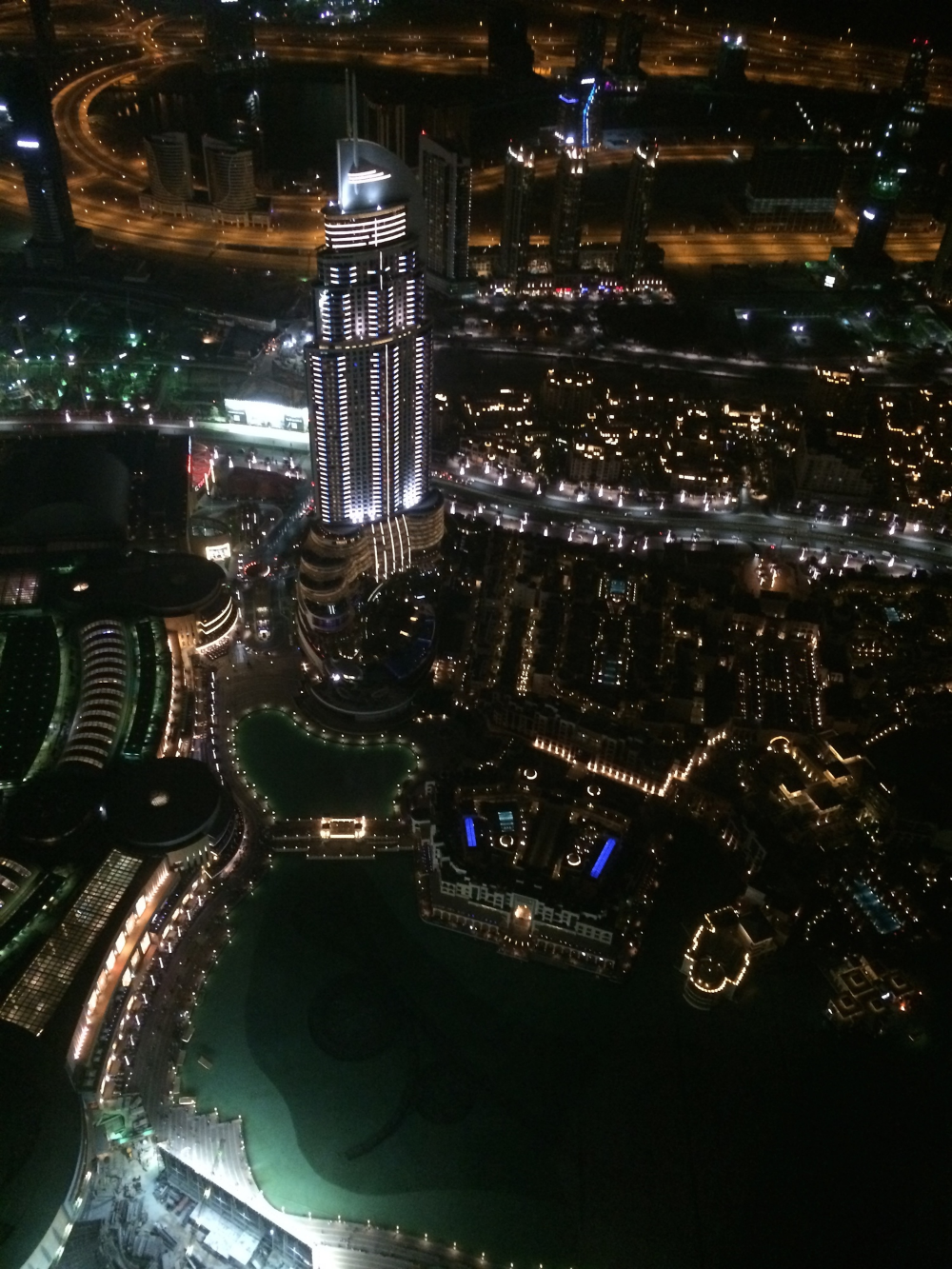 View from the 124th floor of the World's tallest view - Another thing you must do if you fo to Dubai.
