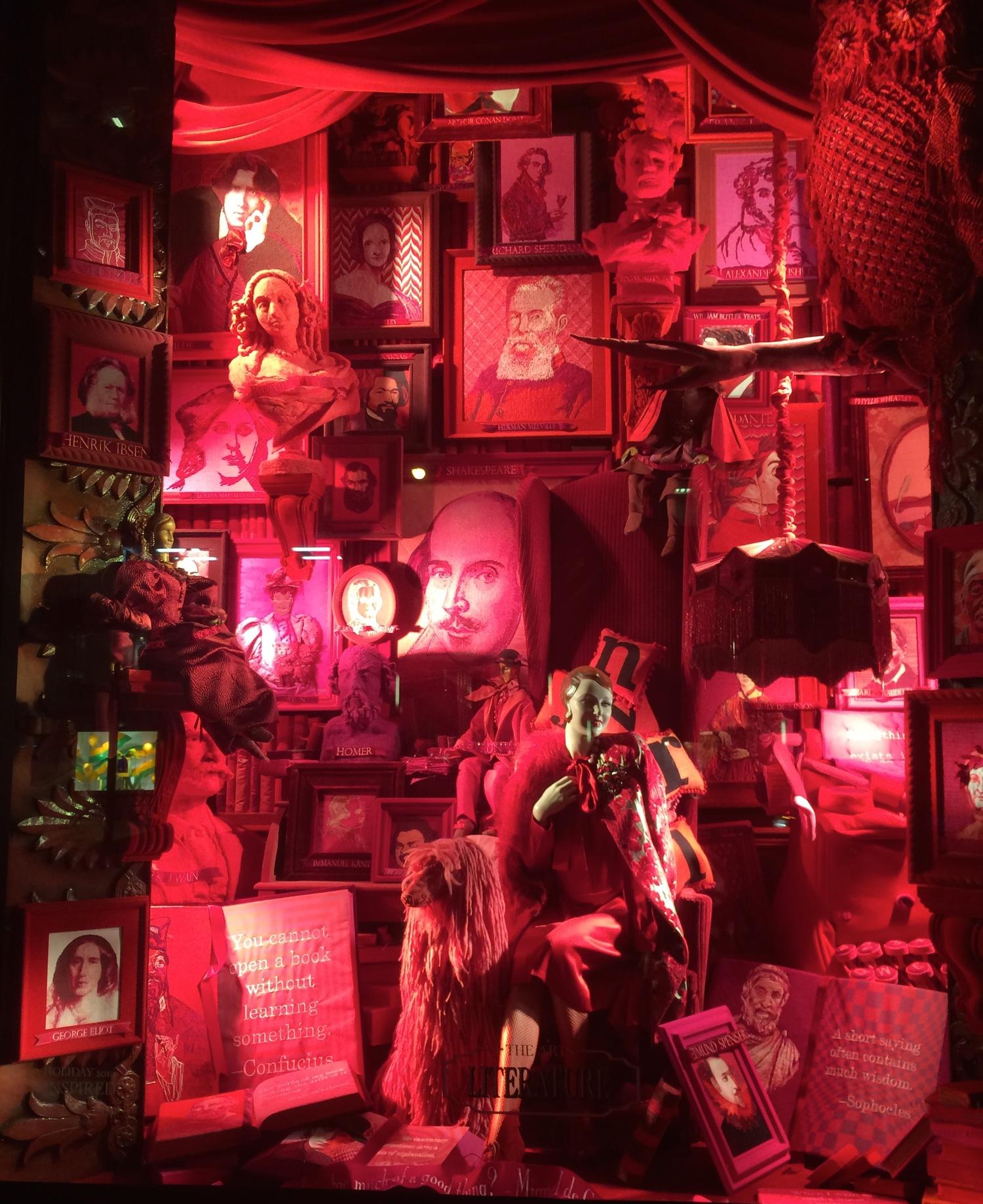 Bergdoff Goodman's Window Display - Christmas 2014