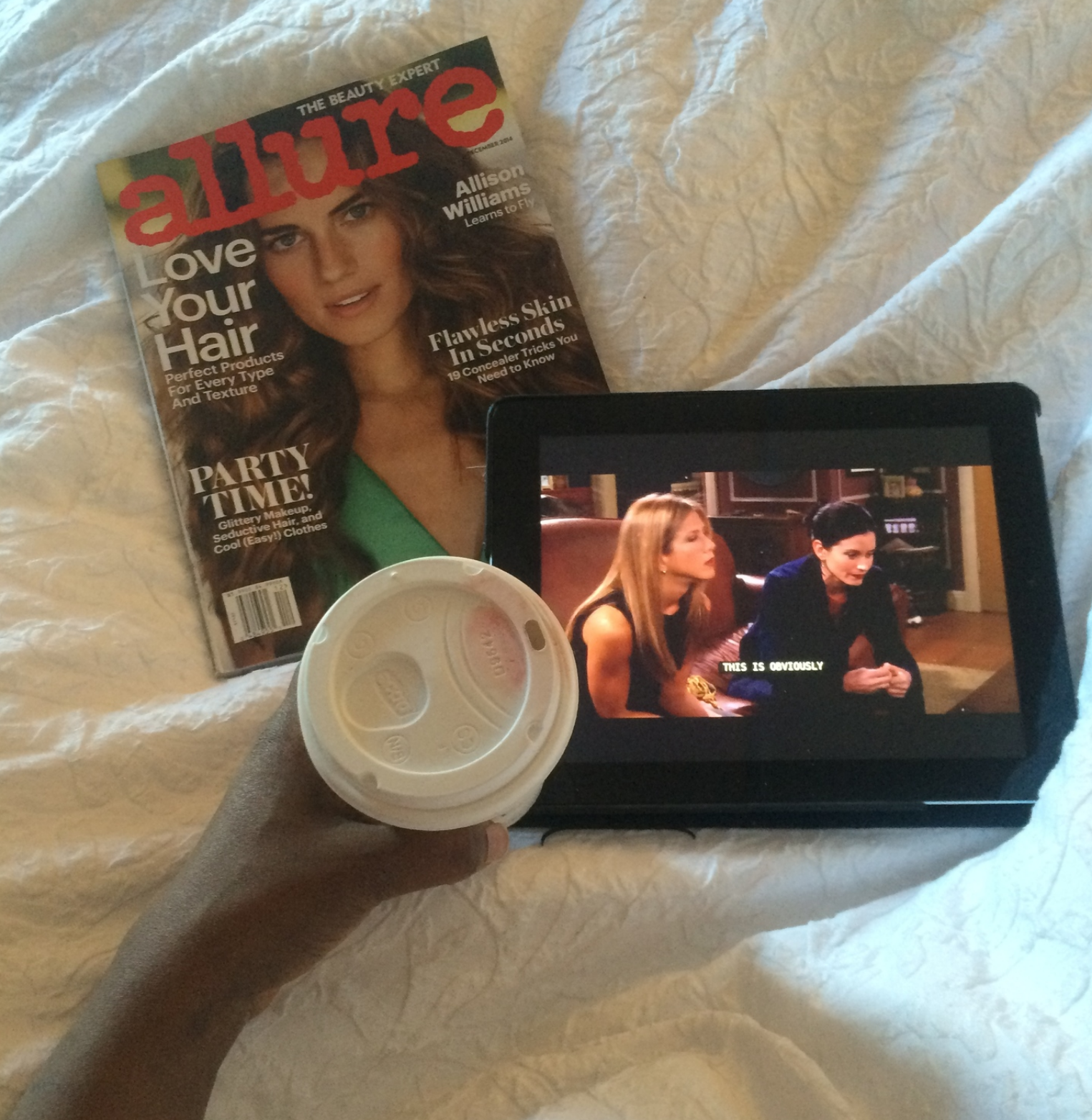 5. Random free weekend watching Friends and sipping Apple Cider