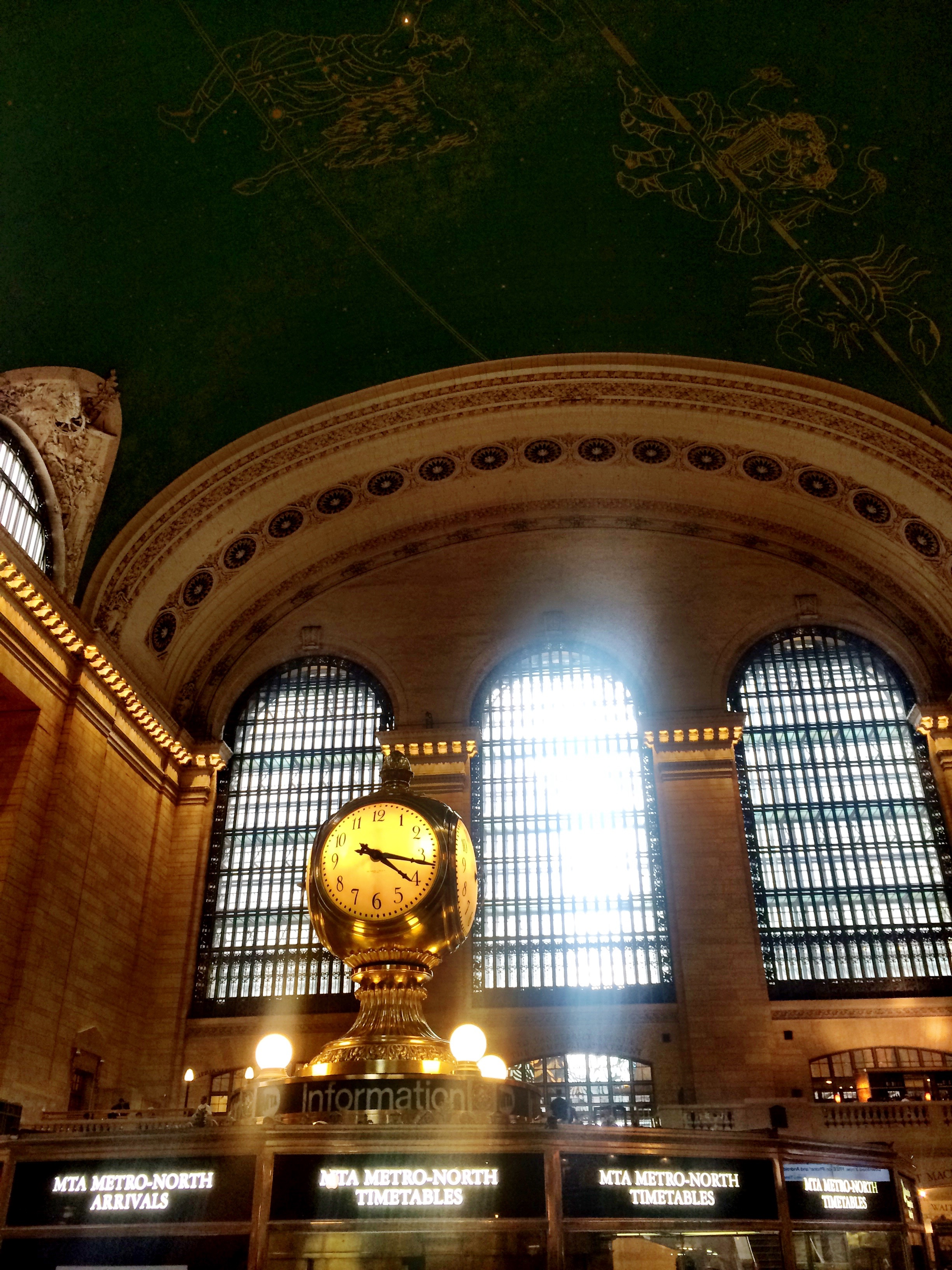 Grand Central Station. Free in NYC