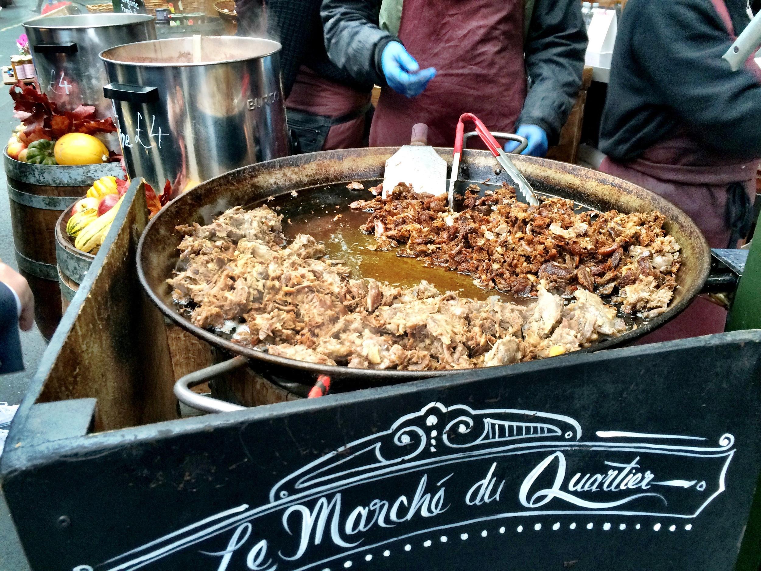 Le Marche Du Quartier - Borough Market. London