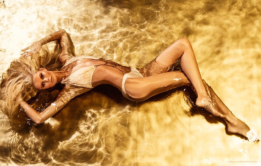 swimwear editorial fashion image by  fashion photographer  nicolaas de bruin