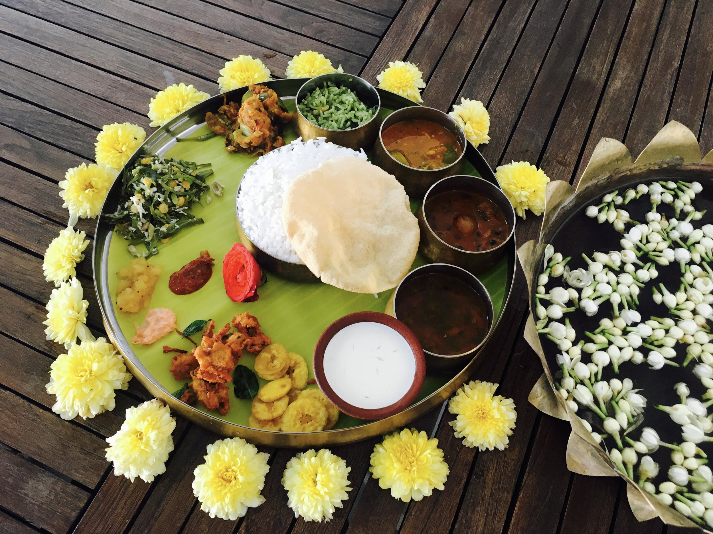 Lunch Tamil style