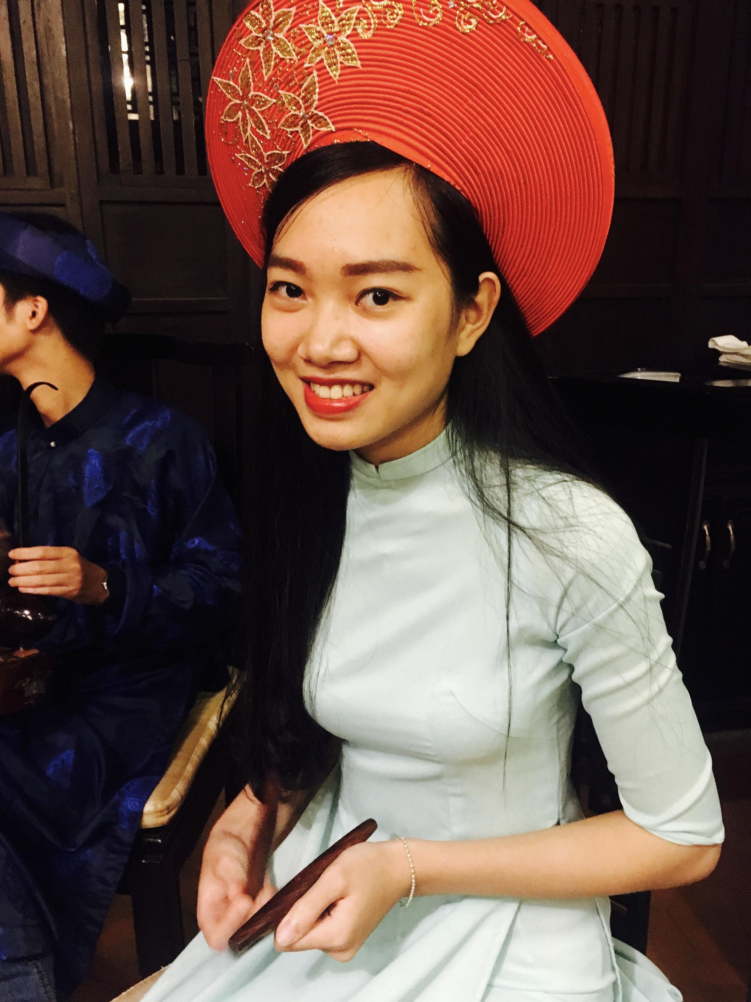 Very beautiful vietnamese girl