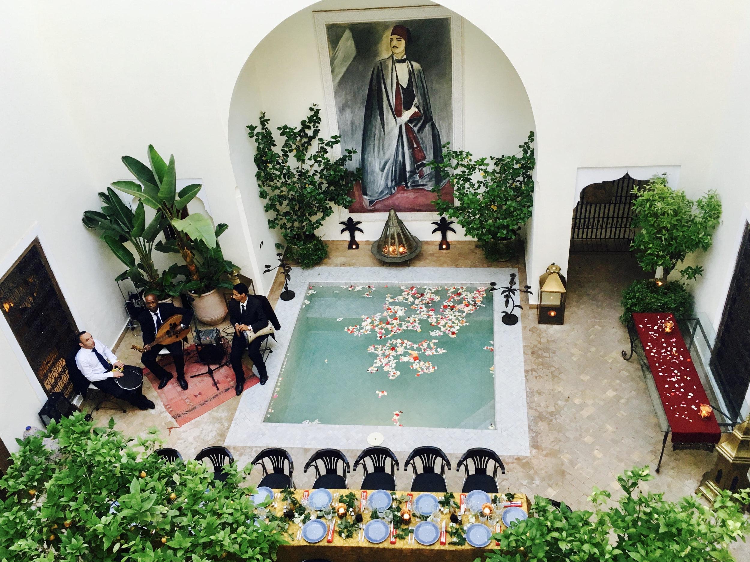 Riad du Ciel in the Medina Marrakech