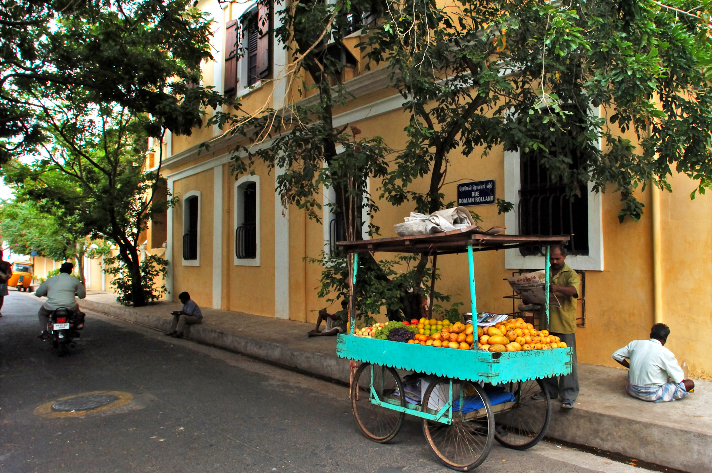 French influenced pondicherry