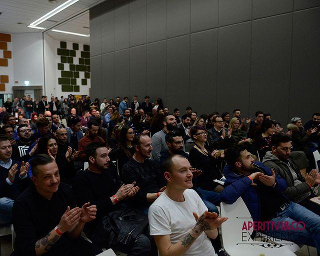 Crowdy seminars at last edition of #aperitiviexperience at @eatalyworld