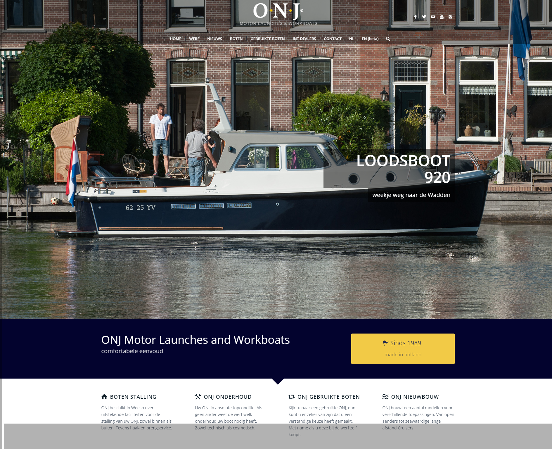 ONJ Motor Launches & Workboats