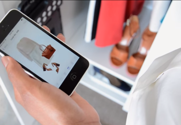Do you remember the closet from the movie Clueless? The Stylebook app is just like that!