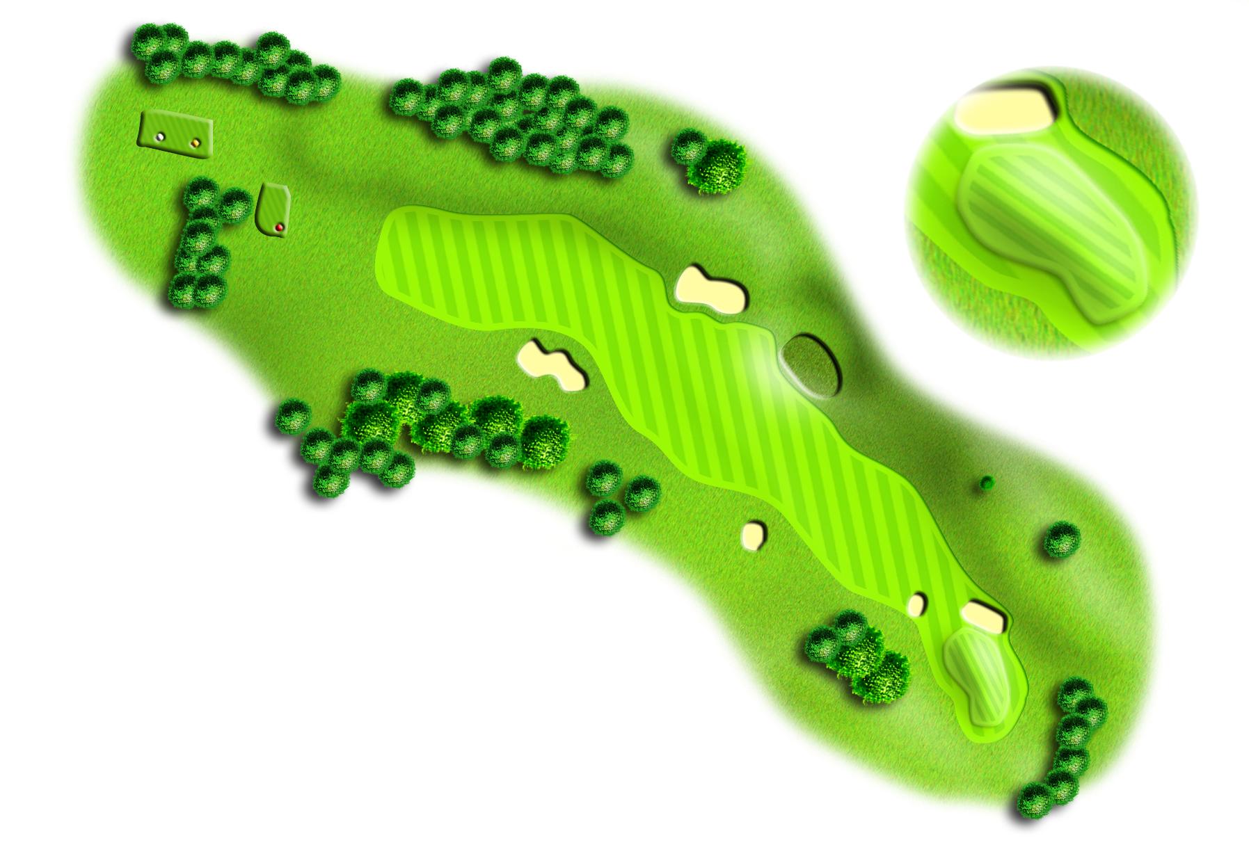 Hole 9, Peebles Golf Club