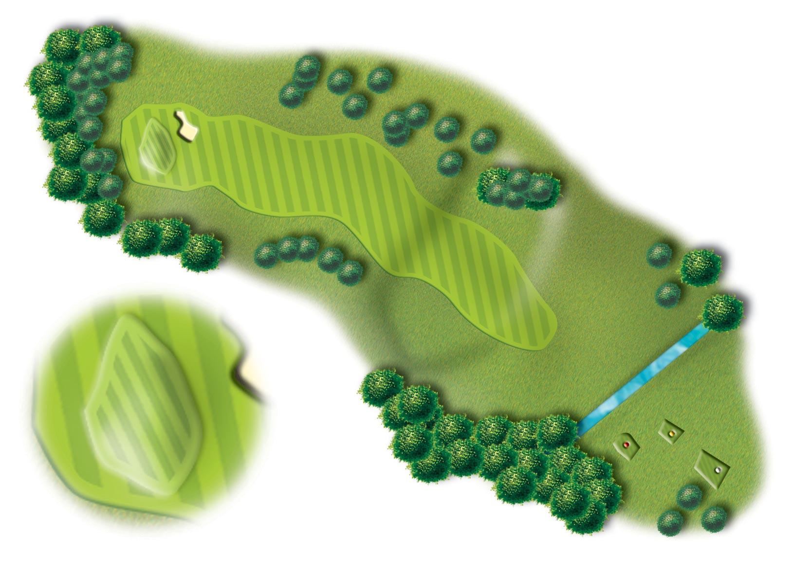Hole 14, Peebles Golf Club