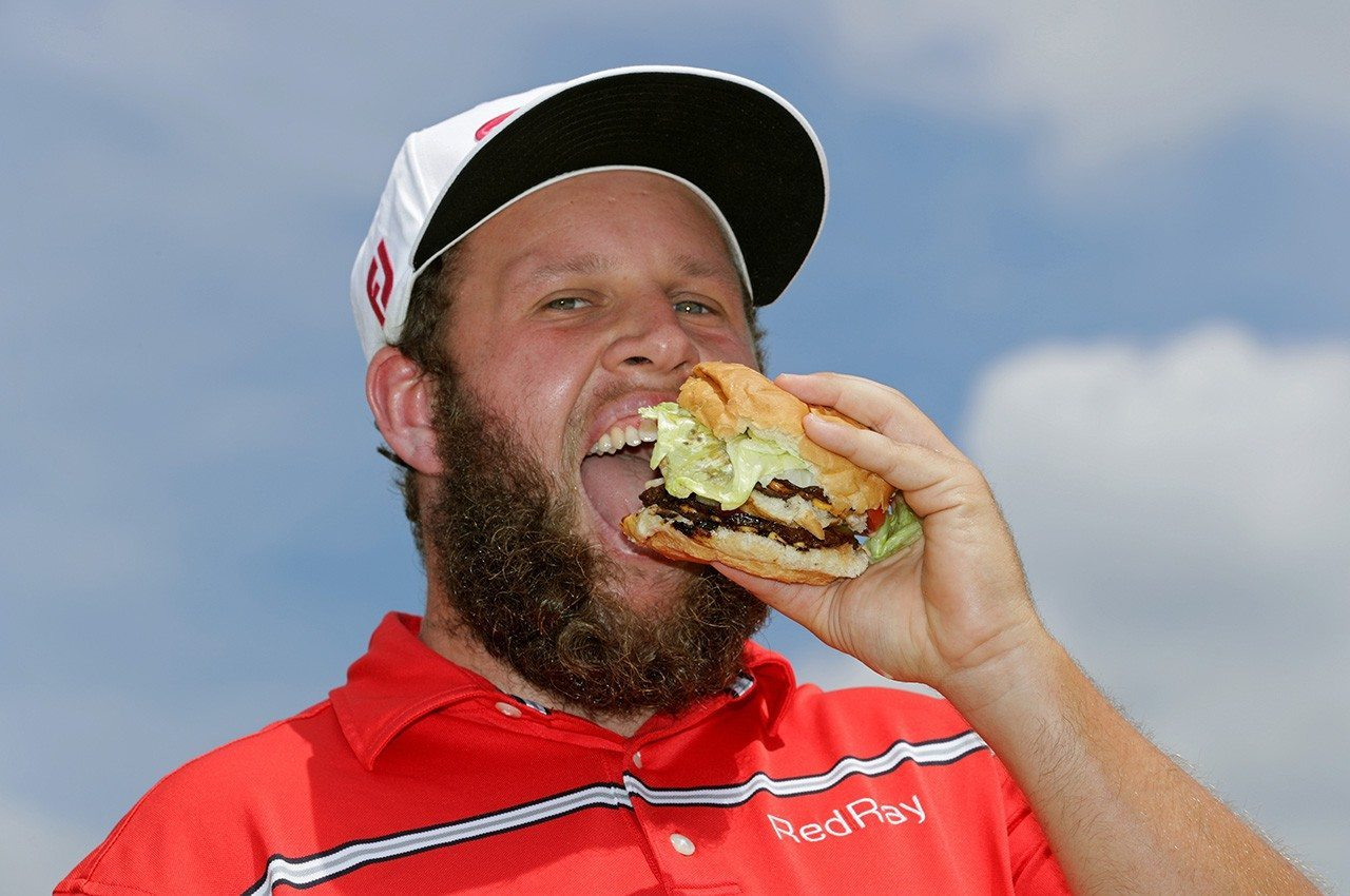 YOU CAN WIN A SIGNED 'BEEF' PHOTO AND FORSYTH'S BEEF RIB EYE STEAKS FOR BEING NEAREST THE PIN AT THE 12TH HOLE!