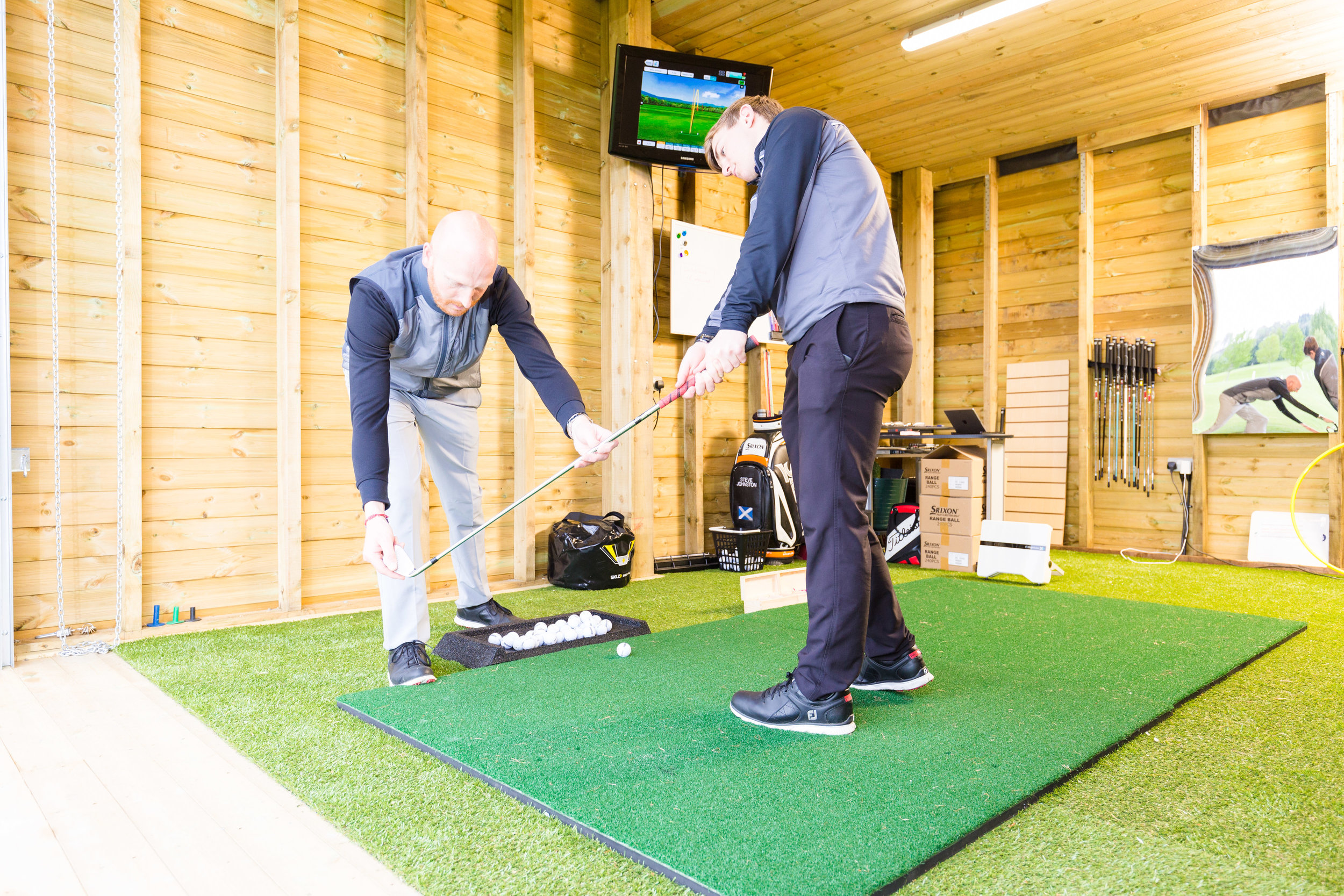 add golf clinics as part of your golf day