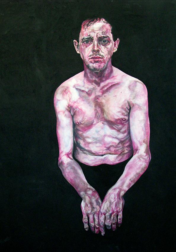 tom - 2008   170cm x 140cm   chalk pastel