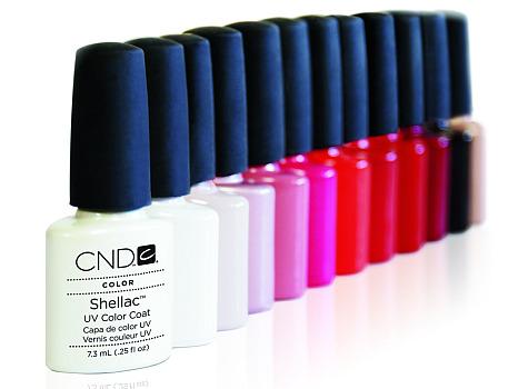 La paleta de colores de Shellac es amplia y muy atractiva
