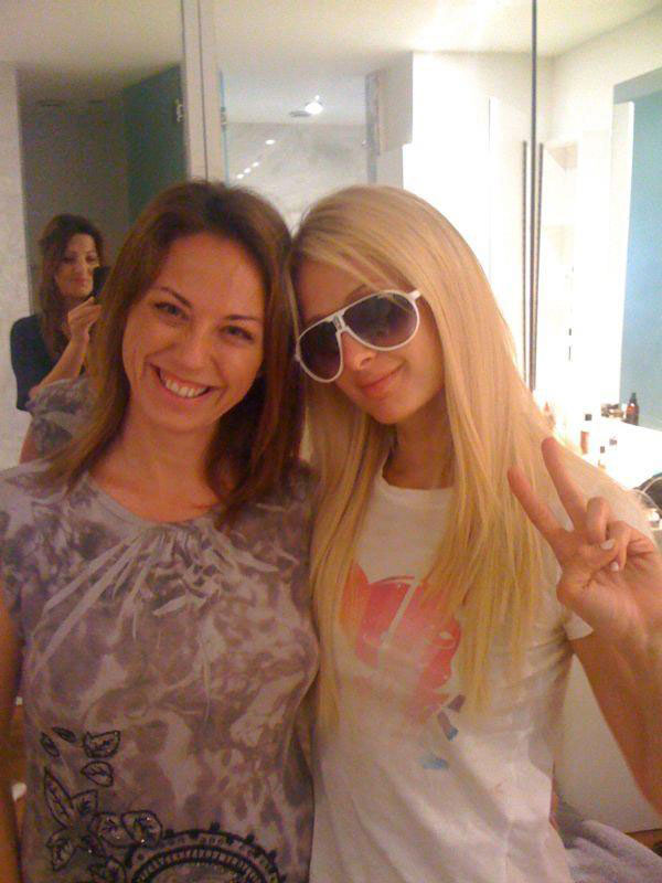 Con Paris Hilton