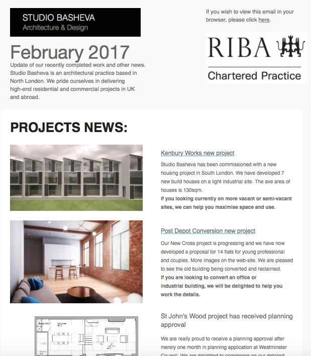 February News by Studio Basheva Architecture
