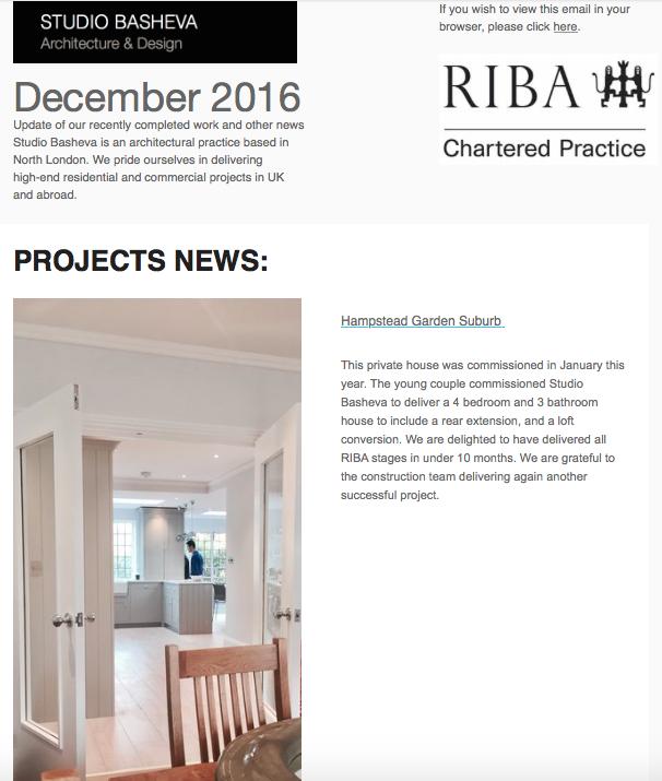 December News from Studio Basheva
