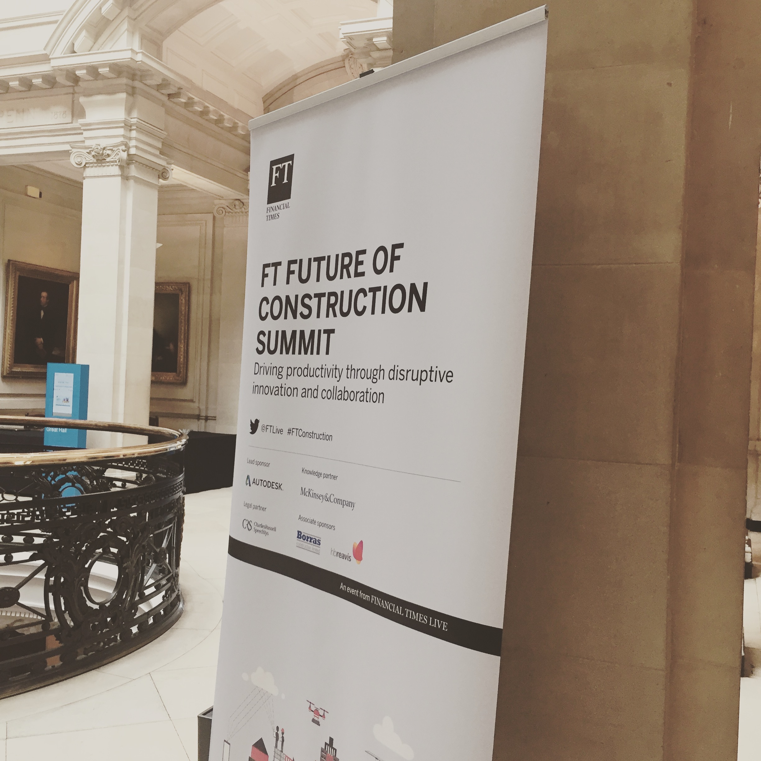 FT future of construction summit