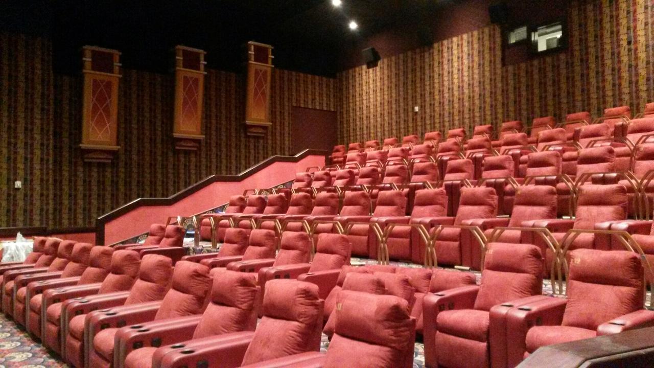 VIP Cinema seating installation