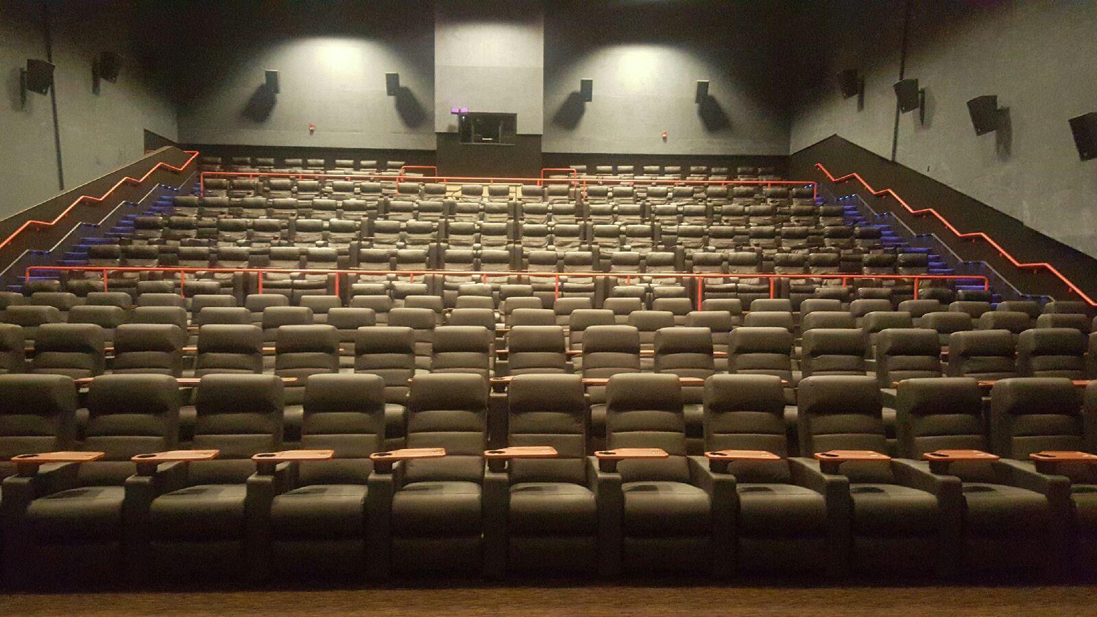 Inorca cinema seat installation