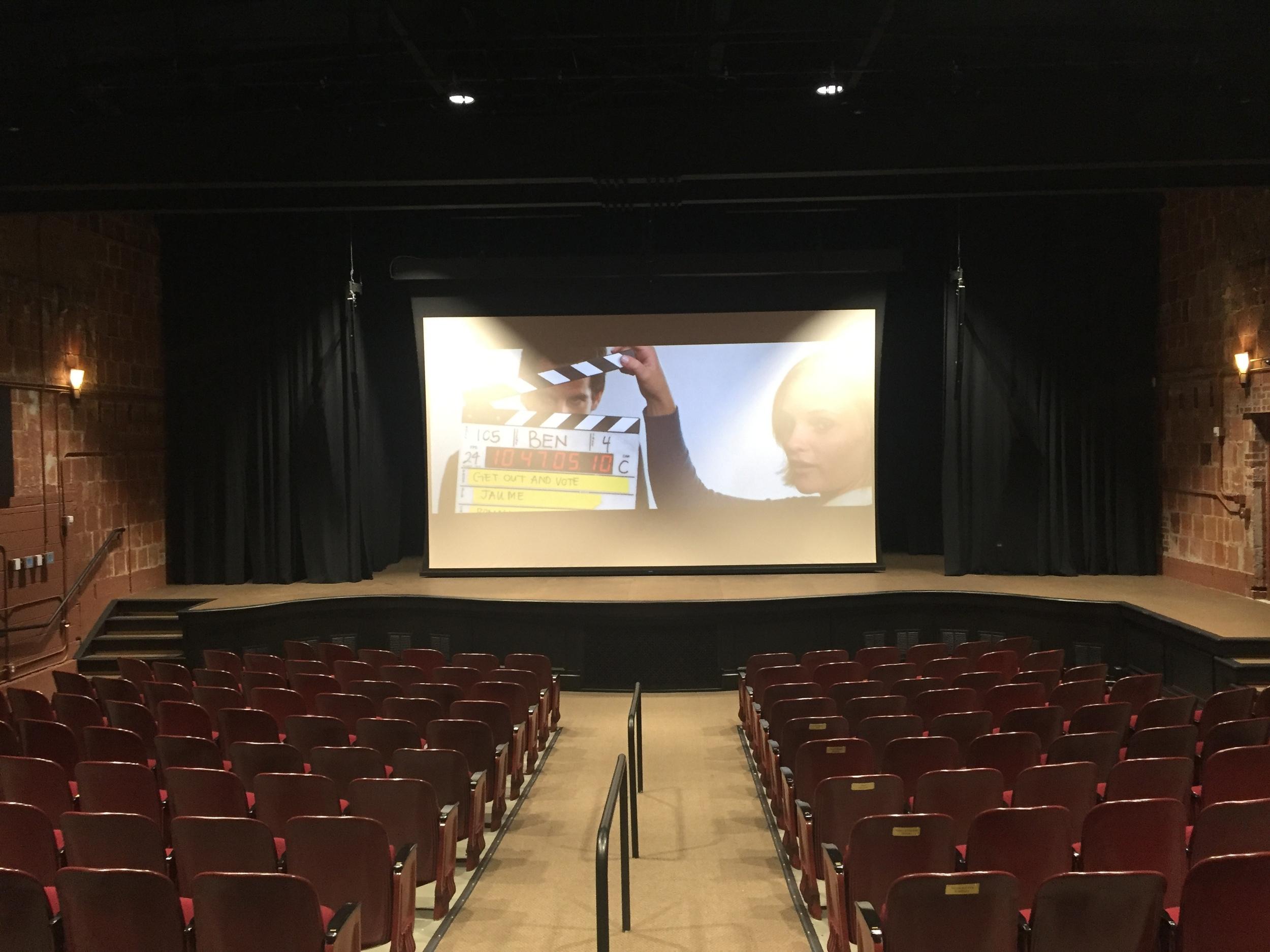 Roll-down screen installation. Tybee Island, Georgia