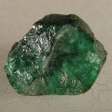 "A gorgeous ""rough"" emerald"