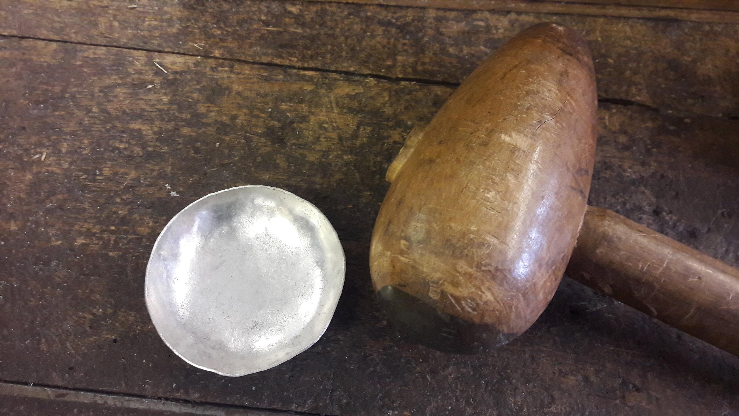 Doesn't quite look like en egg cup yet....