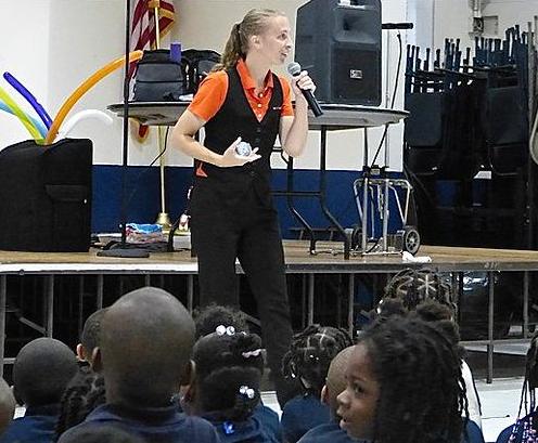 NED Performer Christine
