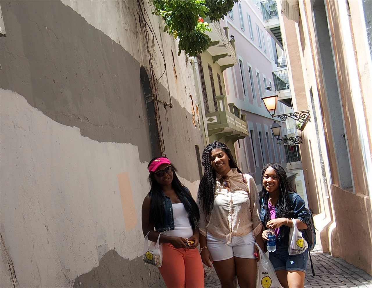 The streets of Old San Juan