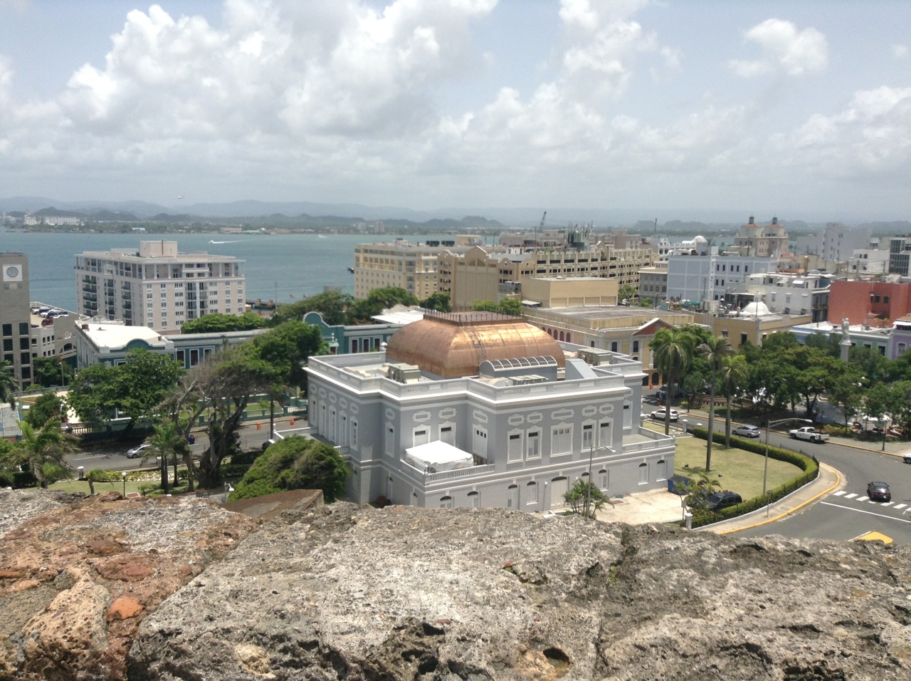 View from San Cristobal Fort