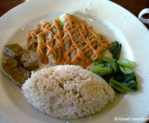 Taiwanese pork with rice