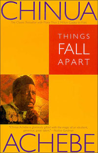 """Things Fall Apart"" author Chinua Achebe"