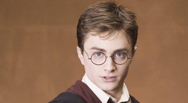 """Daniel Radcliffe as Harry Potter in he fifth Potter movie """"The Order of the Phoenix"""""""