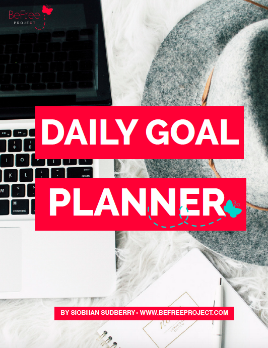 A daily goal planner to help you focus on getting things done by focusing on your top 3 goals each day. Value: $30.00 -