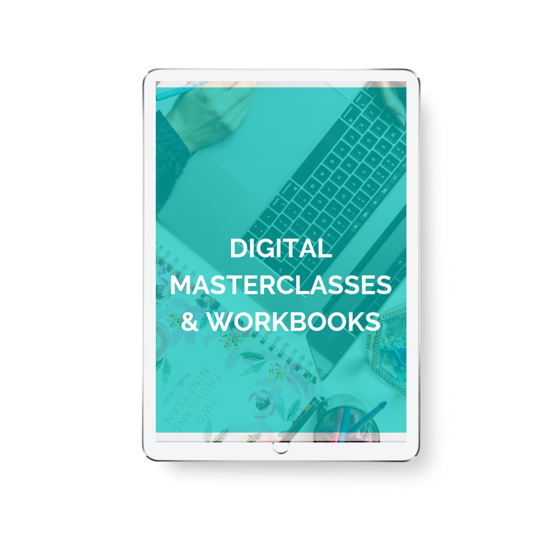 Get Unstuck Digital Workshops + Masterclasses