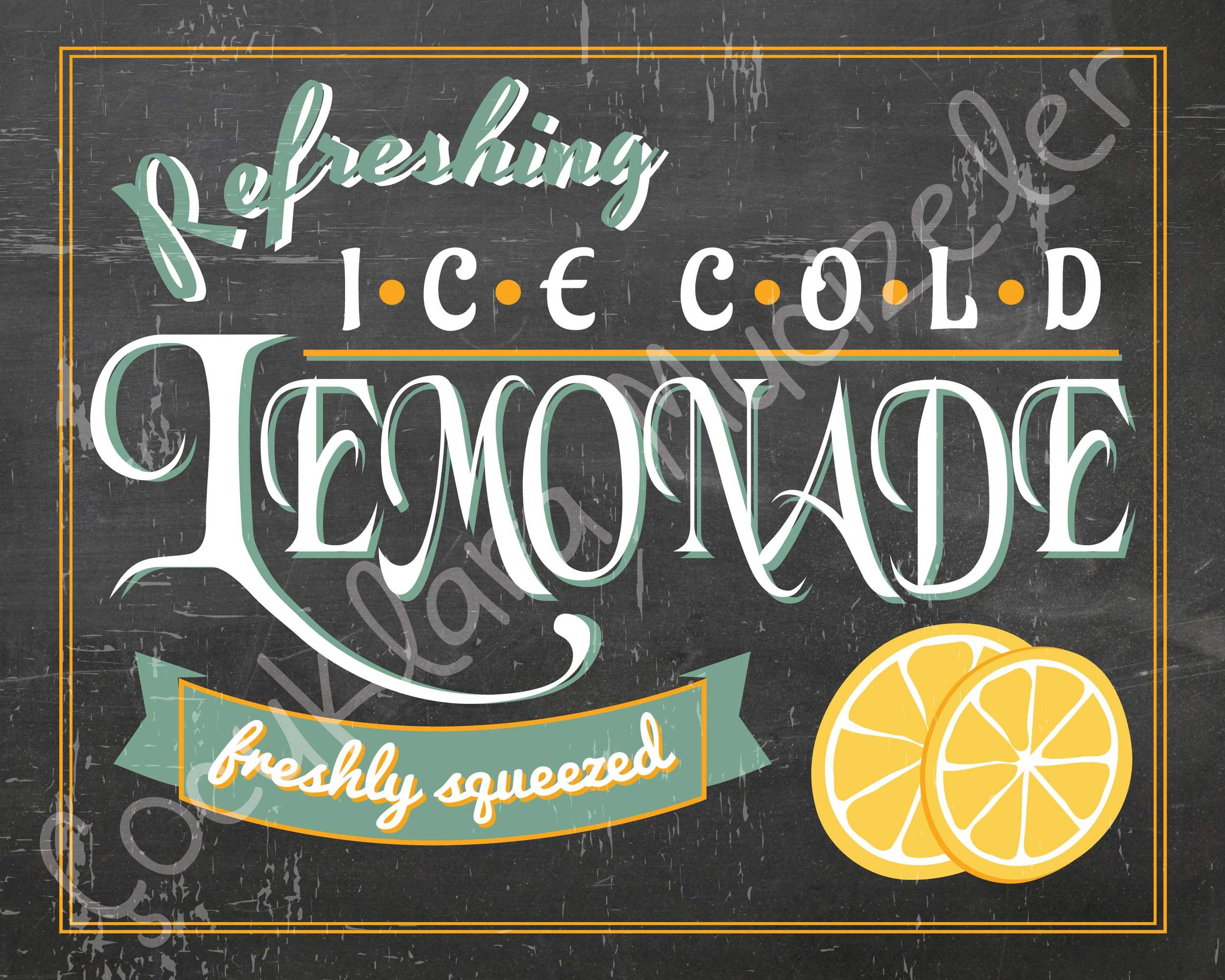 Refreshing Lemonade pano